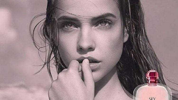 Barbara Palvin Stuns in Giorgio Armani 'Acqua di Sky' Fragrance Campaign