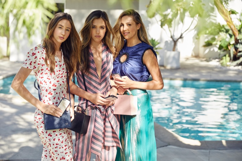 Sophia, Sistine and Scarlet Stallone star in The Daily Edited campaign