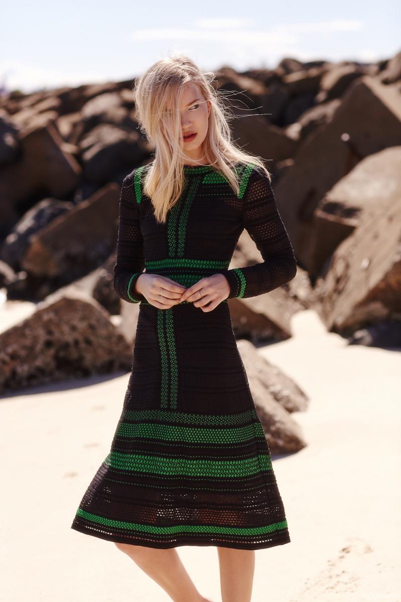 M Missoni Dress available at Christensen Copenhagen, Susan Driver Rings