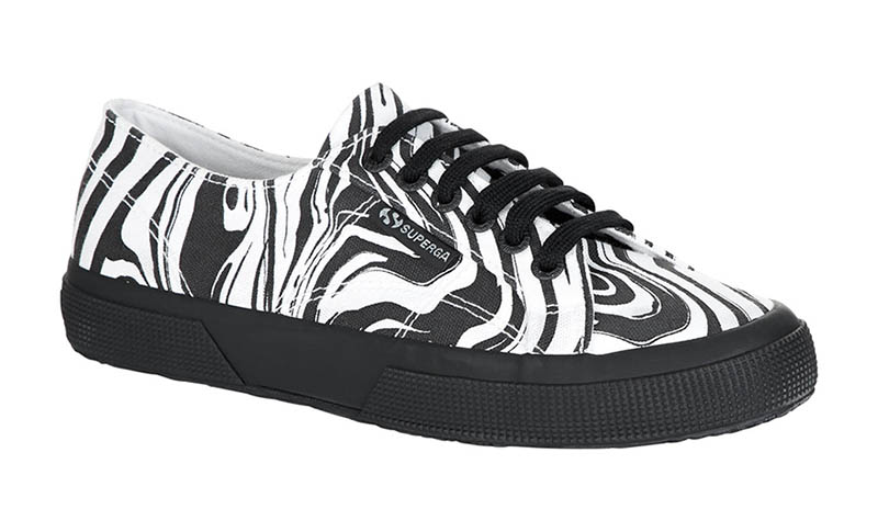 Just In: Superga & Patternity's Groovy Sneaker Collaboration