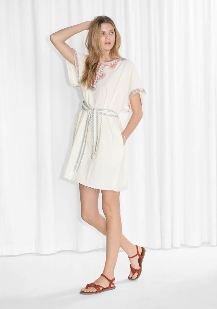 TOMS x & Other Stories Embroidered Dress $85