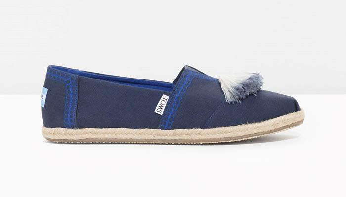 TOMS x & Other Stories Tassel Rope Sole Classics $75
