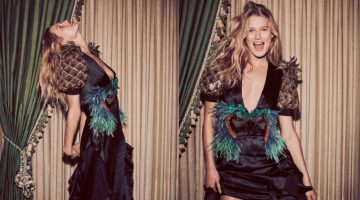 Toni Garrn Charms In the Spring Collections for Harper's Bazaar Spain