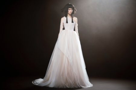The Vera Wang Bride Dresses in White for Spring 2018