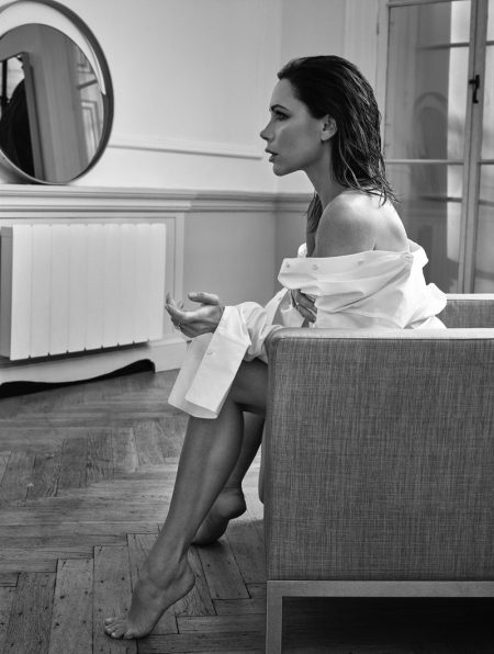 Victoria Beckham Stars in ELLE UK, Talks Married Life
