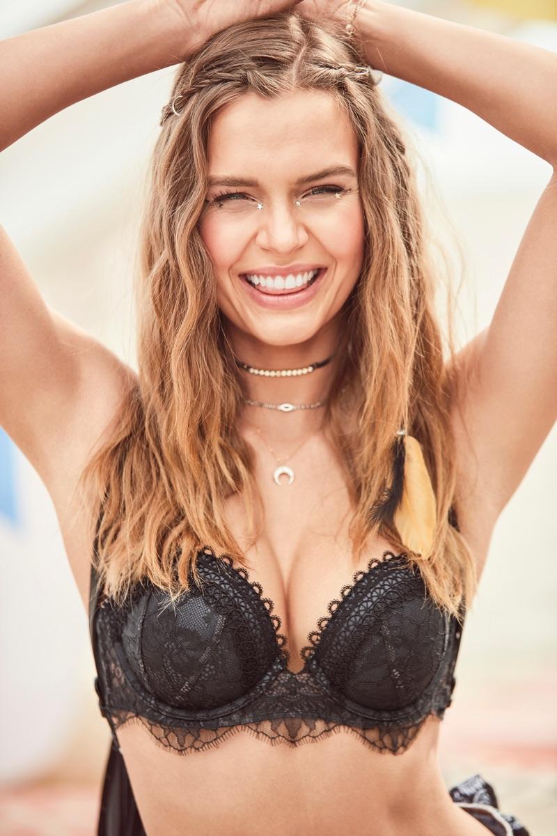 Josephine Skriver models Victoria's Secret Very Sexy Multi-Way Bra