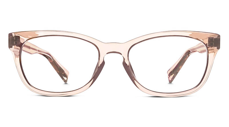 Warby Parker Finch Crystal Glasses in Bellini $95