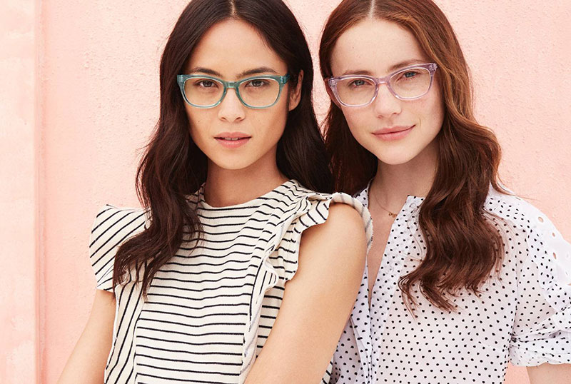 New Arrivals: Warby Parker's Colorful Crystal Glasses