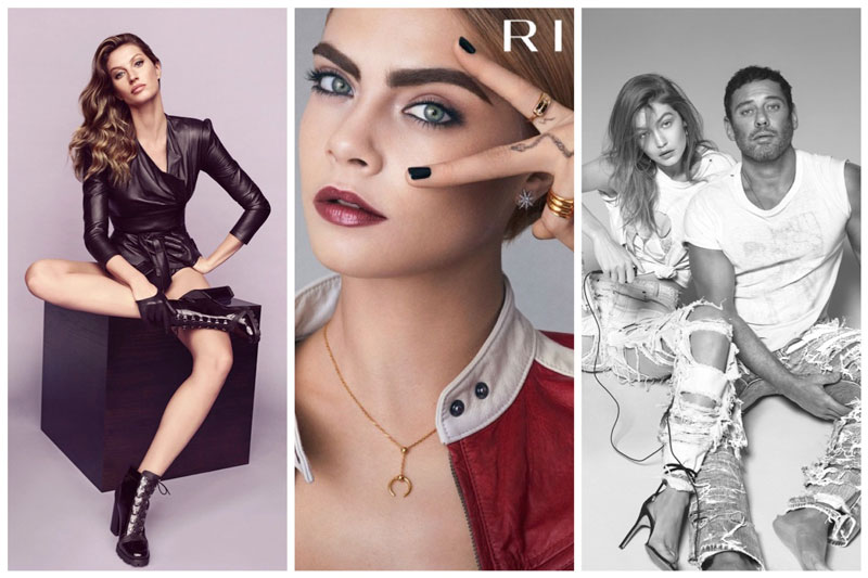 Week in Review | Gigi Hadid's New Cover, Gisele Bundchen for Arezzo, Cara Delevingne Stars in Rimmel Ads + More