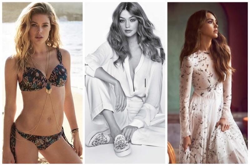 Week in Review | Gigi Hadid's New Campaign, Doutzen Kroes Designs Swimwear, Jessica Alba in ELLE Australia + More