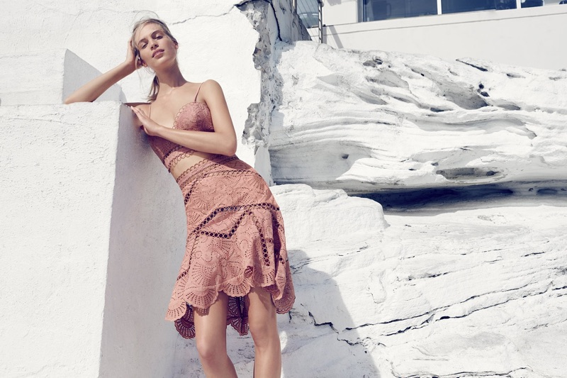 Zimmermann spotlights the Jasper Fan Bralette and Jasper Fan Skirt