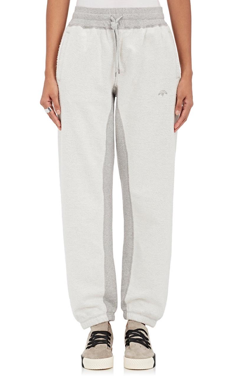 adidas Originals by Alexander Wang Combo Cotton Sweatpants $160, Available at Barneys