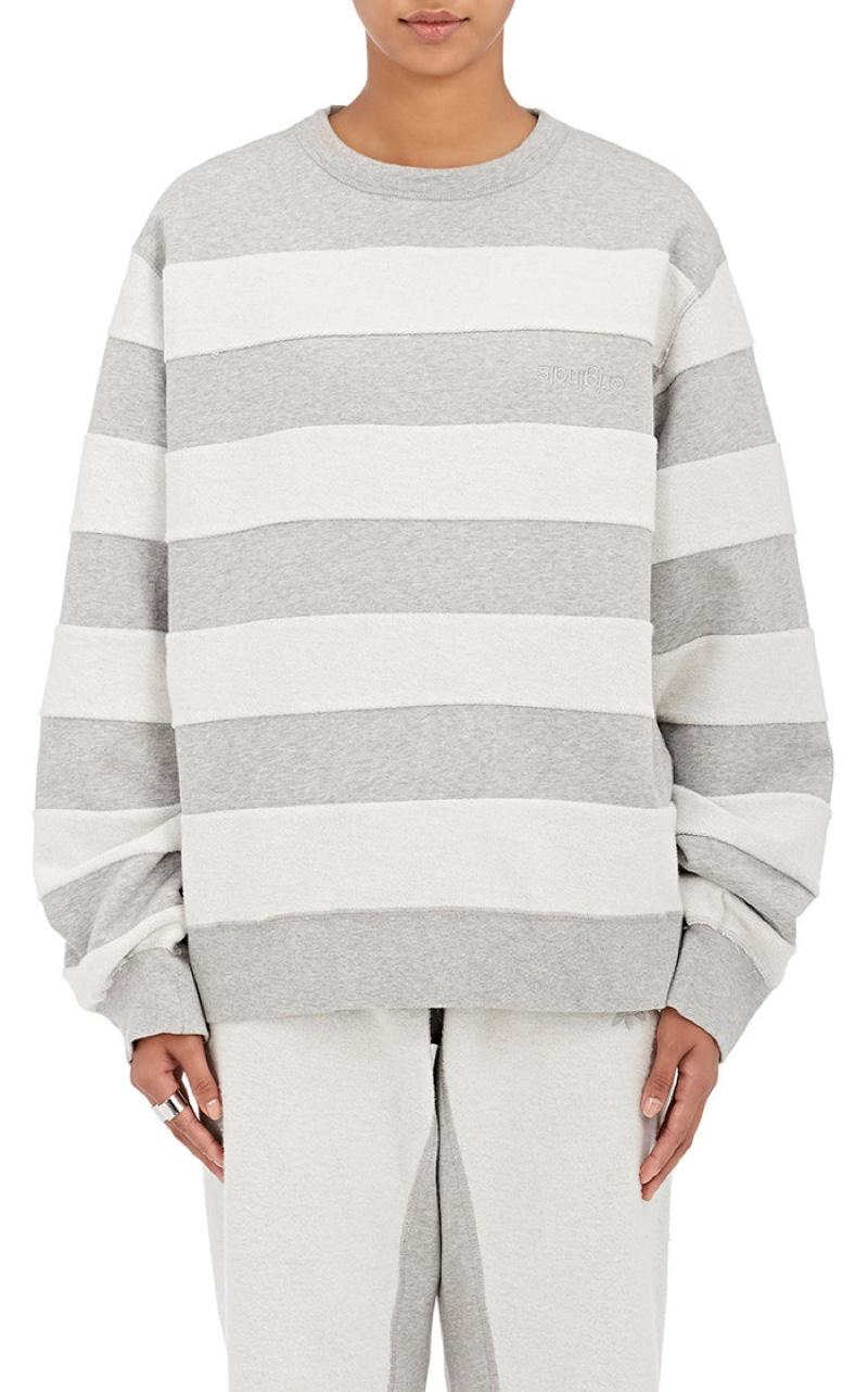 adidas Originals by Alexander Wang Cotton Logo Sweatshirt $160, Available at Barneys