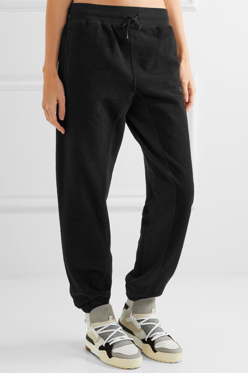 adidas Originals by Alexander Wang InOut Cotton Fleece Track Pants $160, Available at Net-a-Porter.com