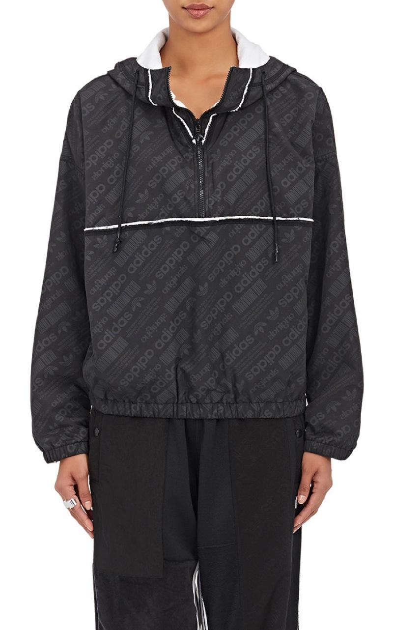 adidas Originals by Alexander Wang Long Windbreaker Jacket $330, Available at Barneys