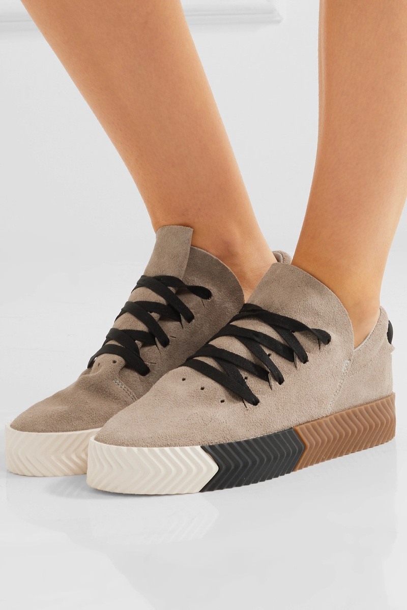 33391b995338 adidas Originals by Alexander Wang Skate Suede Sneakers  180