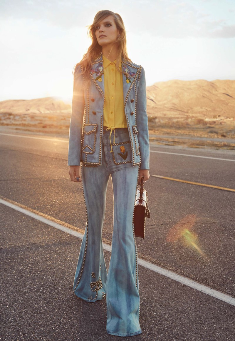 Mirte Maas Goes On a Retro Getaway for Vogue Taiwan