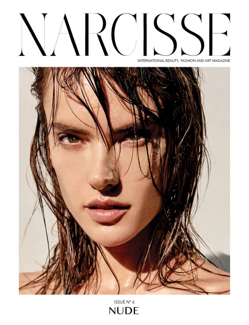 Alessandra Ambrosio on Narcisse Magazine Spring/Summer 2017 Cover