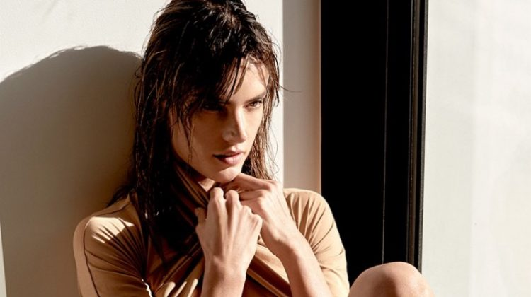Alessandra Ambrosio models Cushnie et Ochs bodysuit