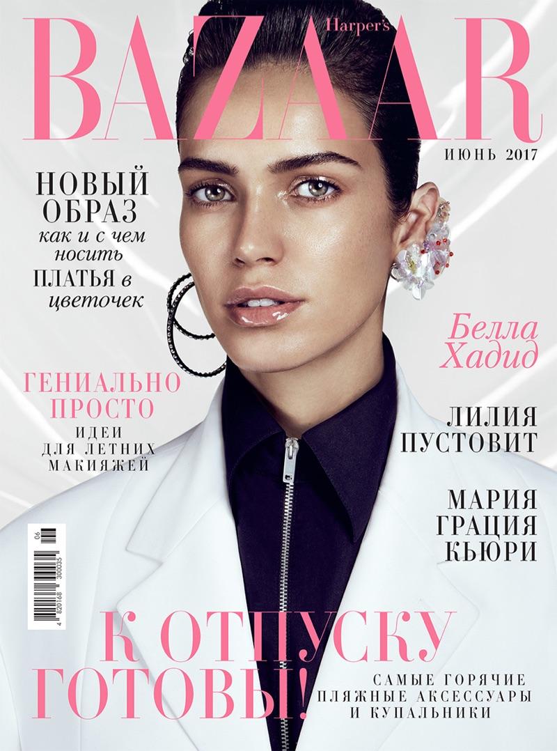Amanda Wellsh on Harper's Bazaar Ukraine June 2017