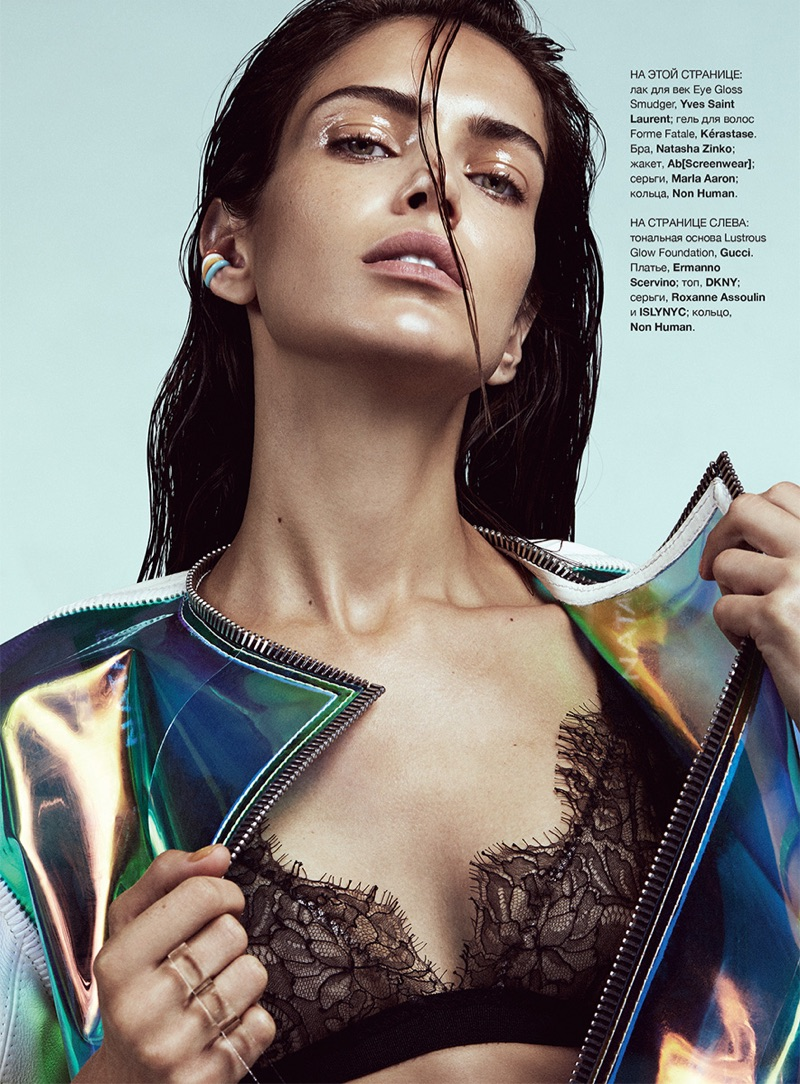 Amanda Wellsh Wears Fashion Forward Looks in Harper's Bazaar Ukraine