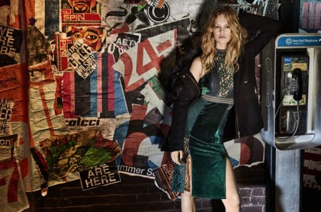Anna Ewers is A Rock & Roll Princess in Colcci's Fall 2017 Campaign