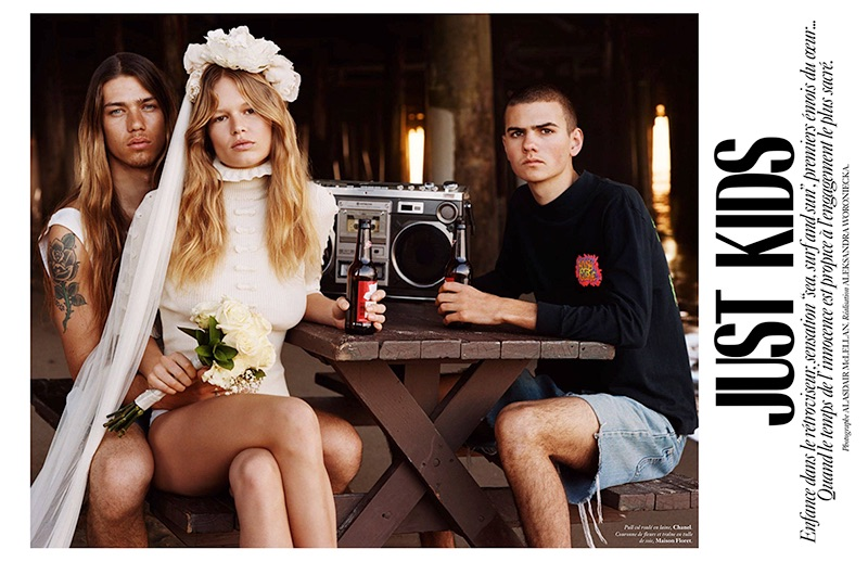 Anna Ewers stars in Vogue Paris' May issue