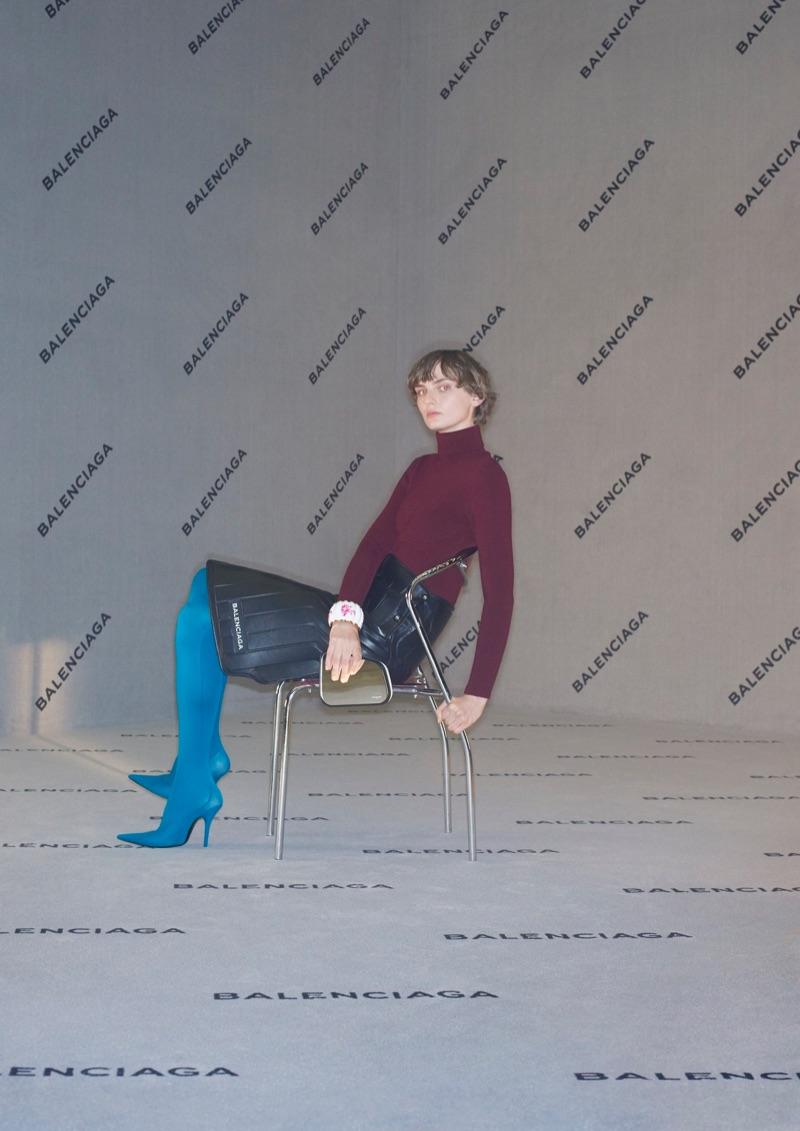 Balenciaga unveils fall-winter 2017 campaign