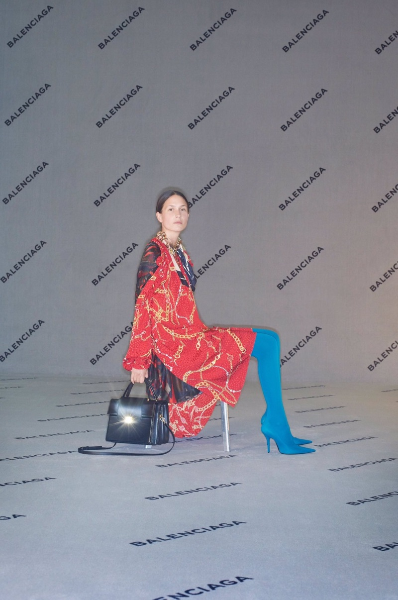 Emma Leth fronts Balenciaga's fall-winter 2017 campaign