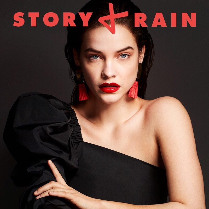 Barbara Palvin on Story + Rain Cover