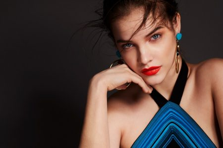 Barbara Palvin Stuns in Story + Rain Beauty Shoot