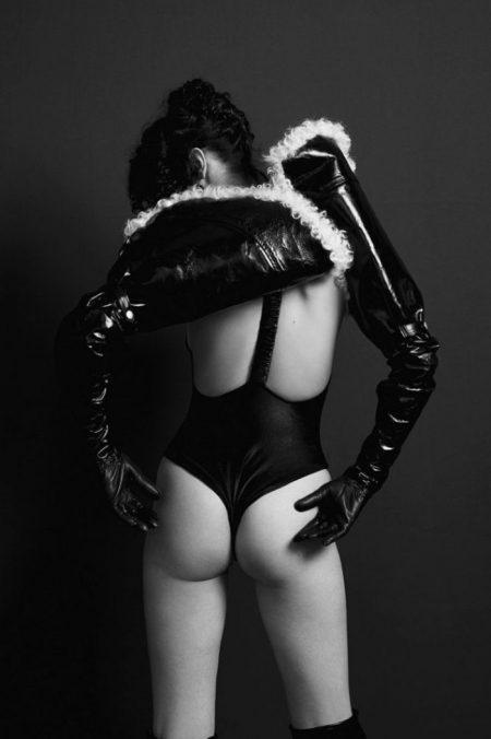 Bella Hadid Smolders in 032c Magazine Cover Story