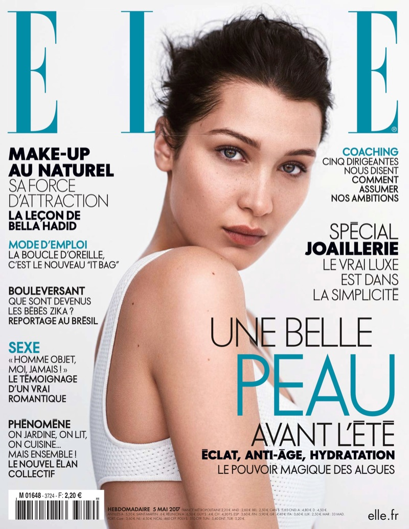Bella Hadid on ELLE France May 5th, 2017 Cover