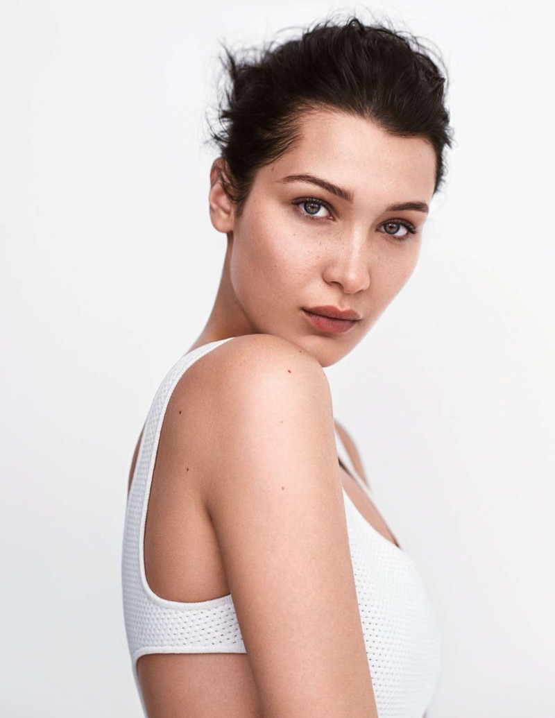 Bella Hadid Models Stripped Down Style for ELLE France Cover Story