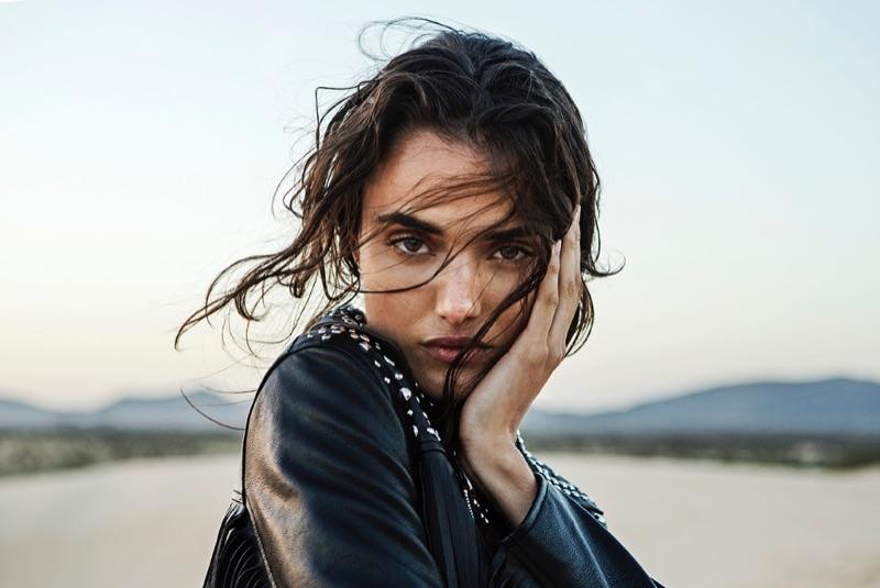Blanca Padilla stars in Stradivarius' Wanderlust lookbook