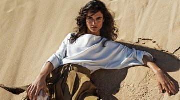 Blanca Padilla Has a Case of Wanderlust in Stradivarius Fashions