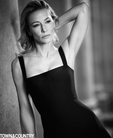 Cate Blanchett Covers Town & Country, Opens Up About Philanthropy Work
