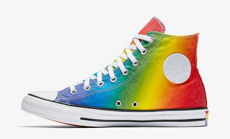 Converse Chuck Taylor All Star Pride Geostar High Top $65