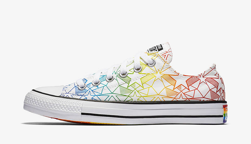 Converse Chuck Taylor All Star Pride Geostar Low Top $60