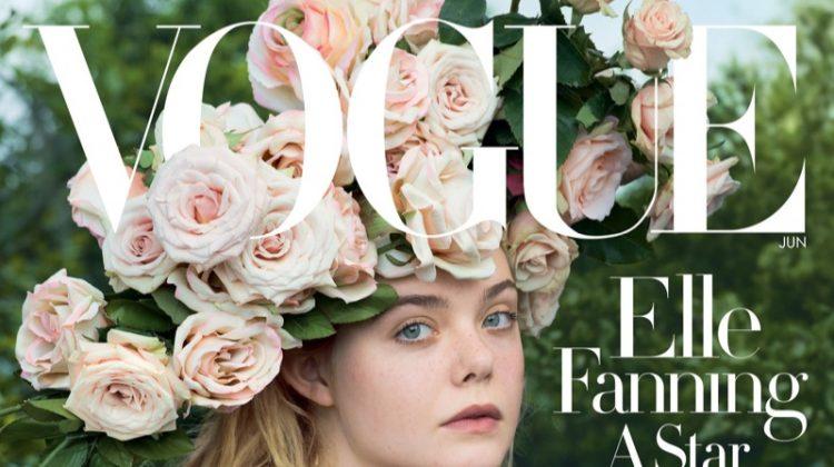 Elle Fanning on Vogue Magazine June 2017 Cover