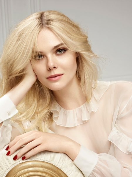 Elle Fanning is the New Face of L'Oreal Paris