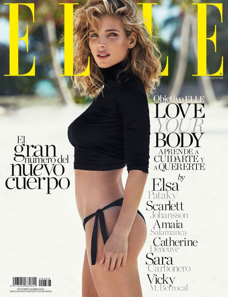 Elsa Pataky on ELLE Spain May 2017 Cover