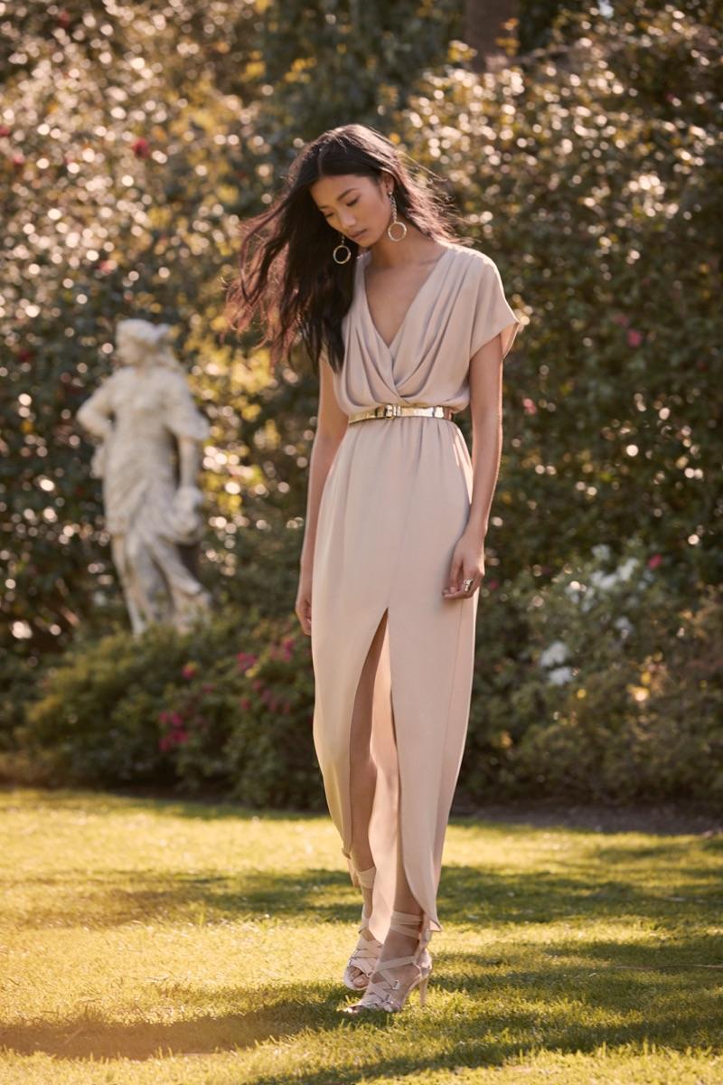 Pretty By Rory Chiffon Maxi Dress $78.00