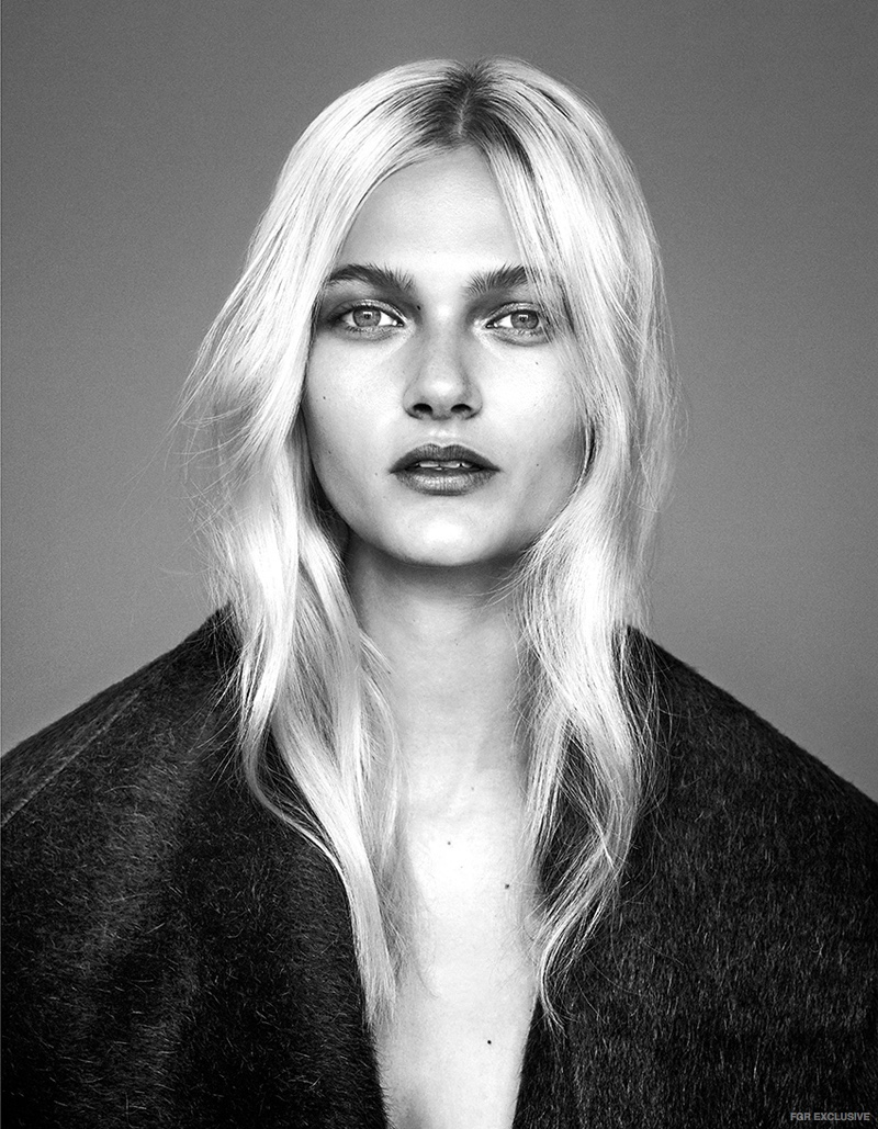 Exclusive: Frederikke Olesen by Sam Bisso in 'Swept Up'