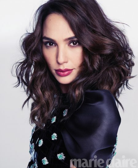 Gal Gadot Stars in Marie Claire, Talks Woman's Equal Rights
