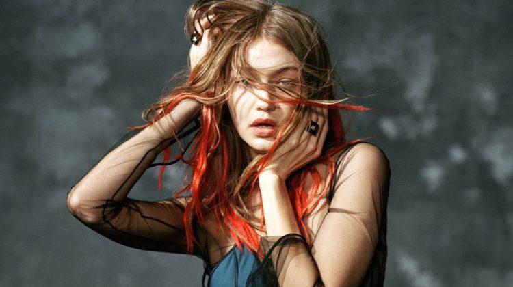 Gigi Hadid stars in Versace's fall-winter 2017 campaign