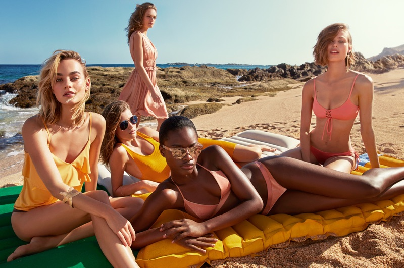 H&M spotlights swimsuit and beach style for summer 2017