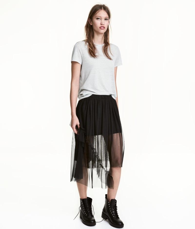 H&M Tulle Skirt $39.99