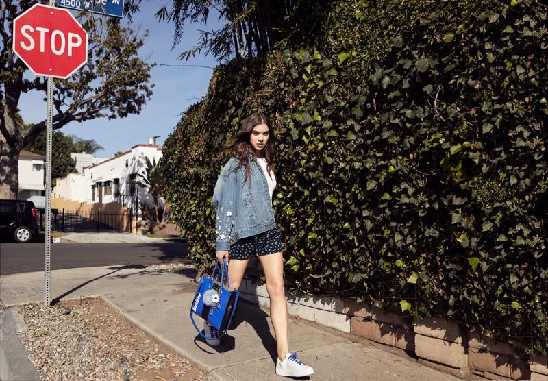 Hailee Steinfeld stars in Michael Kors The Walk Summer 2017 campaign