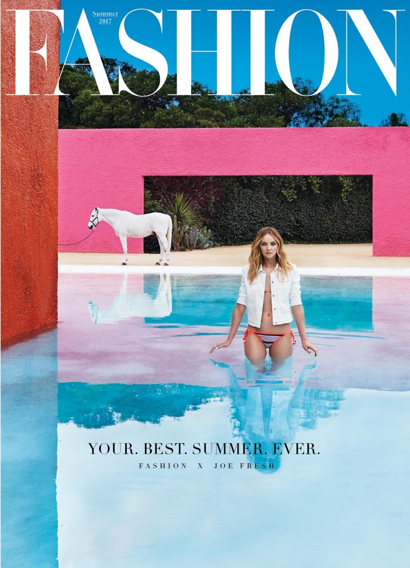 Heather Marks on FASHION Magazine Summer 2017 Cover
